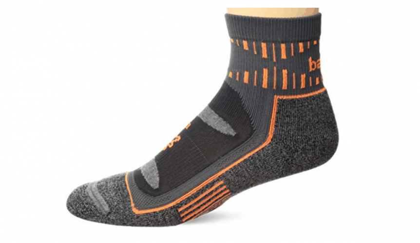High performance trail running quarter socks